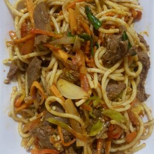 SHREDDED BEEF PASTA